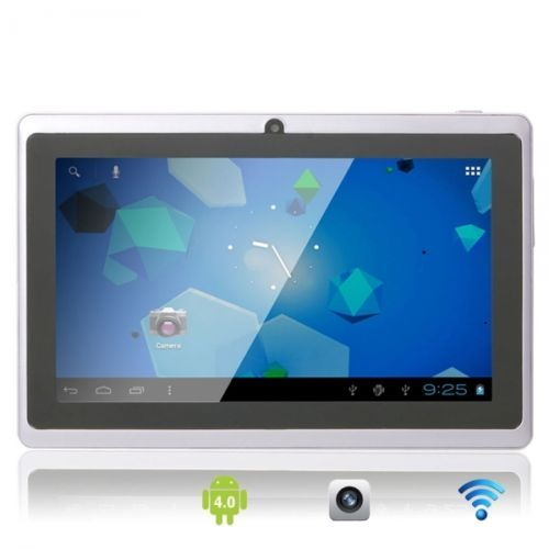 """7"""" Capacitive Touch Screen A13 Android 4.0 8GB Tablet PC with Front Camera Light #Touch #Screen #Tablet $75.65"""