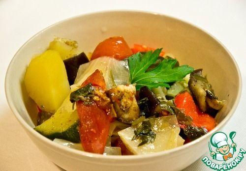 Овощное рагу в мультиварке - кулинарный рецепт