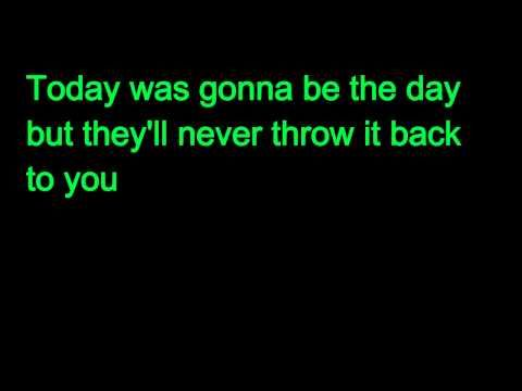 Oasis - Wonderwall, Karaoke with Lyrics - YouTube