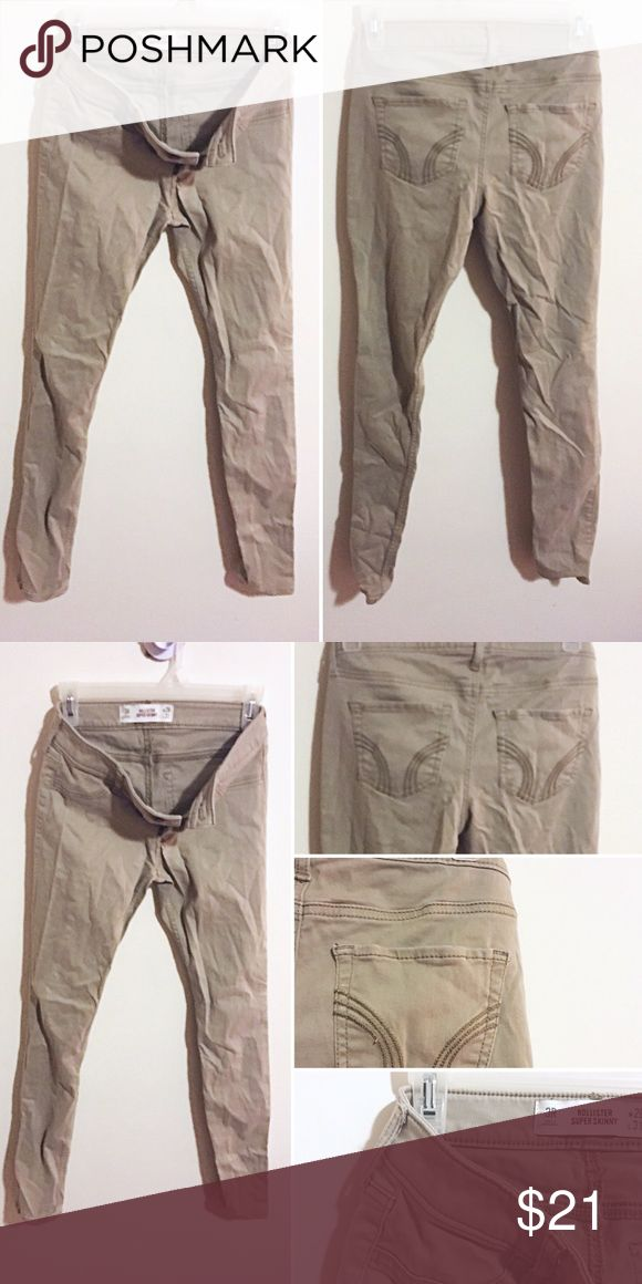 Hollister khaki pants Hollister khaki pants   Low rise  Size 3 Regular length   Perfect for work, golf, or a chilly day at sea  Make an offer :) Hollister Pants Trousers