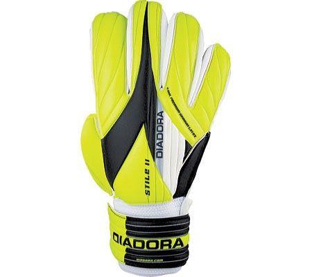 Diadora Unisex Stile II Fluo Yellow/Black Size 10 (10)