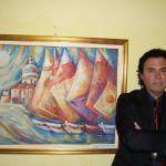 Massimo Paracchini si aggiudica la Vela d'oro per l'arte