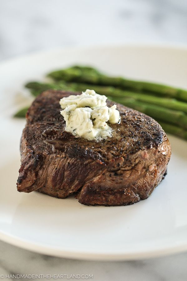 This recipe for the perfect pan-seared filet mignon is easier than you think. With the right meat, tools and directions you can make this restaurant quality meal at home! This post is sponsored by TheKansas City Steak Company. A few years ago I learned how to cook the perfect pan-seared filet mignon and I'm not …