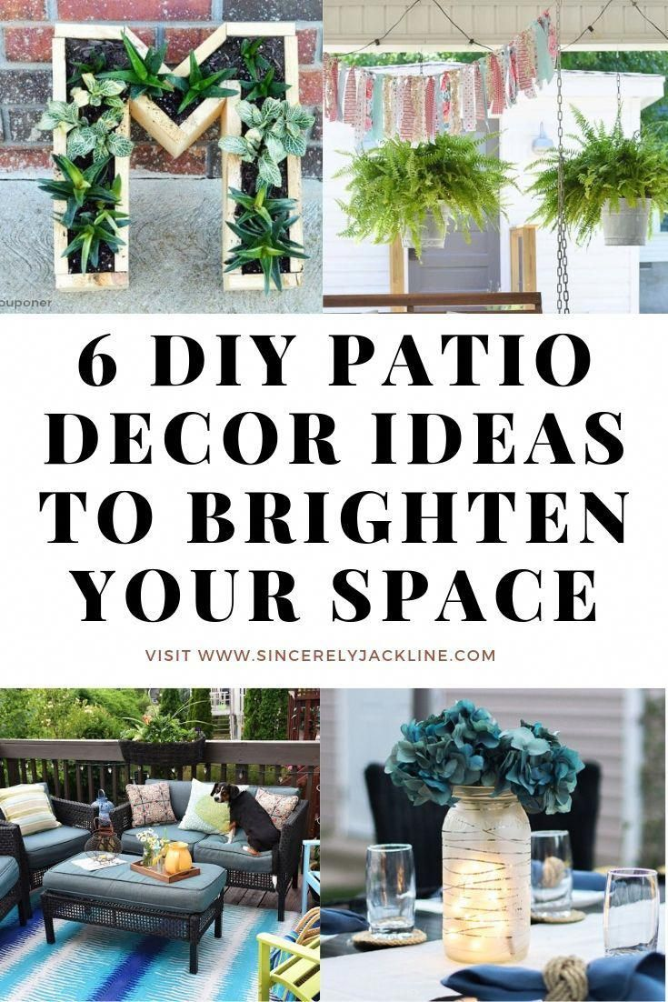 6 Diy Patio Decor Ideas To Brighten Your Outdoor Space In 2020