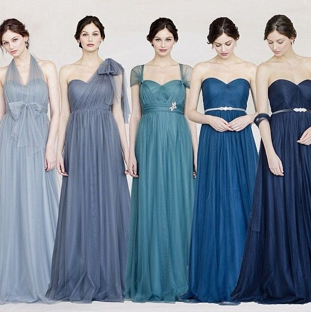 Romantic and Ethereal Bridesmaid Dresses You'll Love! www.theperfectpalette.com - Shop the look!