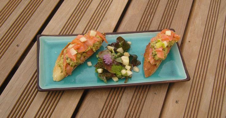 Tartines Avocat relevé Saumon fumé Smoked Salmon Spicy Avocado toasts