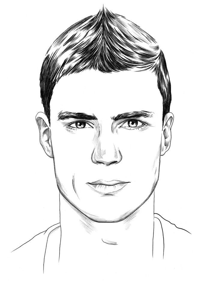Head Shapes And Hairstyles Men – # Hairstyles #Head Types # Men #surface #and