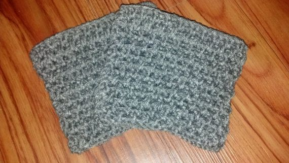 Hey, I found this really awesome Etsy listing at https://www.etsy.com/listing/195263471/grey-crochet-boot-cuff-crochet-boot-sock