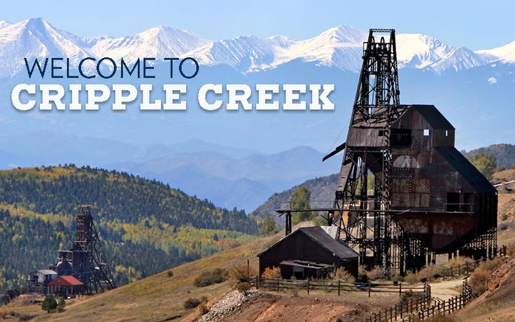 From Colorado Springs, take a 45-minute, beautifully scenic drive to the western face of Pikes Peak- America's Mountain and the mining town of Cripple Creek, Colorado.