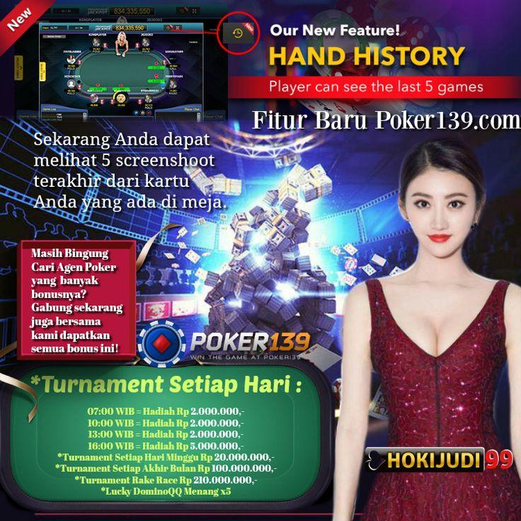 Bermain Poker139 di Hokijudi99.com sekarang dapat melihat ...