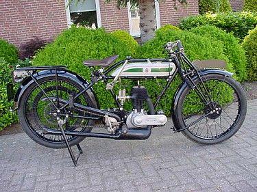 Triumph 1925 Model P 500cc 1 cyl sv