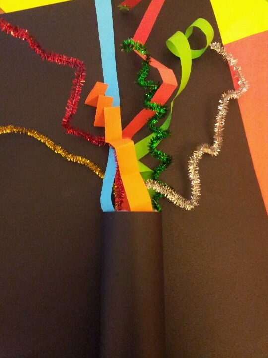 Firework craft for toddlers, Guy Fawkes night