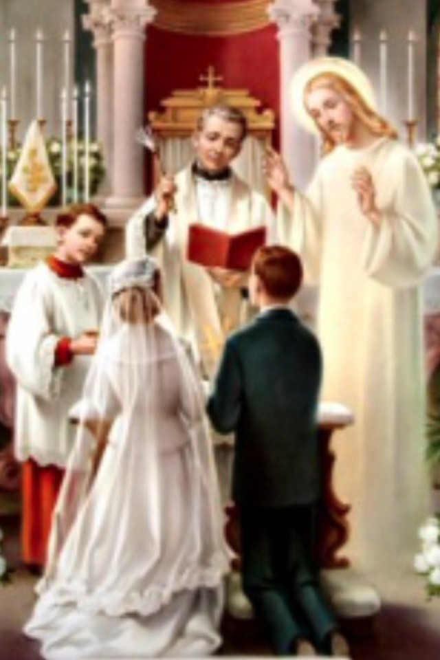 the meaning of a catholic marriage Matrimony is the marriage contract between christians raised by christ to the dignity of a sacrament the theological and dogmatic treatment of this sacrament does not look very much to its main.