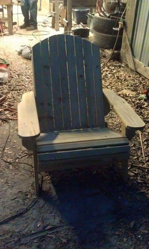 treated adirondack chair