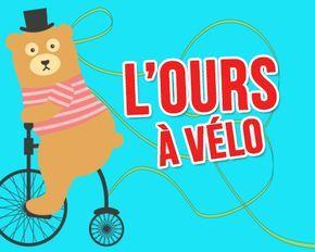 L'ours à vélo délivre votre #message - carte #anniversaire animée : http://tous-mes-voeux.com/carte-2-252-anniversaire-ours-velo