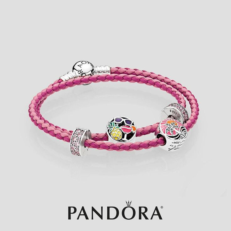 """63 Likes, 3 Comments - PANDORA Staten Island Mall (@pandora_si__mall_) on Instagram: """"#DO come into PANDORA to get our newest leather bracelet. The mixture of light and dark pink looks…"""""""