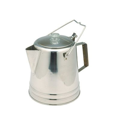 Texsport 28 Cup Stainless Percolator Coffee Maker