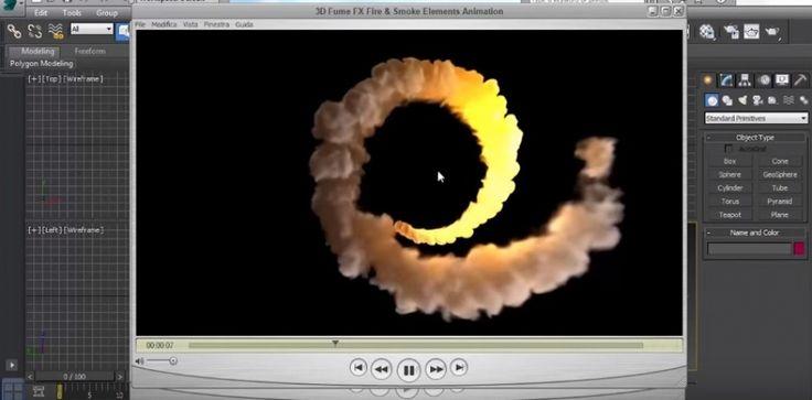 FumeFx - Fire Spiral fx - Animation Path Constraints