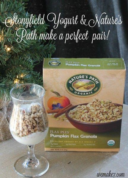 Stonyfield Yogurt & Nature's Path make a perfect pair! - WEMAKE7