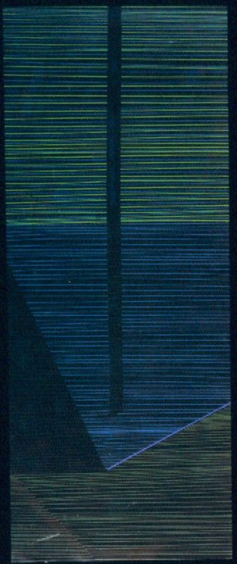 Lines to Maree, Ralph Hotere, 1969, VUW.1970.2