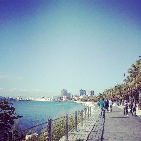 Bellissima passeggiata domenicale a su siccu, godendo del sole e della brezza marina. #Cagliari #view #beautiful