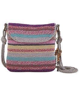 Os Sak Classics Casual pequeno Crochet Hobo - Bolsas e Acessórios - Macy