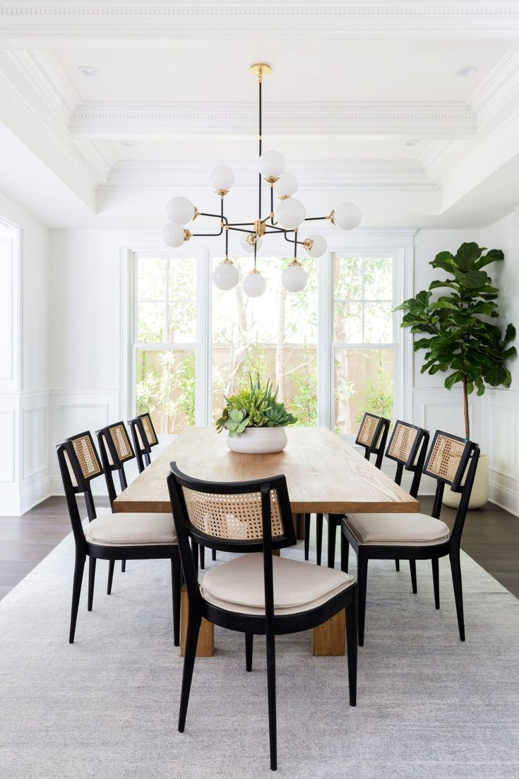 Dining Room Brentwood Project In 2020 Casual Dining Rooms Dining Room Interiors Casual Living Rooms
