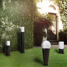 Luxury Garten LED Rattan Leuchte Au enleuchte Solarlampe Solarlicht Gartenbeleuchtung garten gartenm bel gartenzubeh r