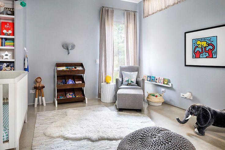 Интерьер детской где стиль лофт отлично сочетается со скандинавским стилем. .