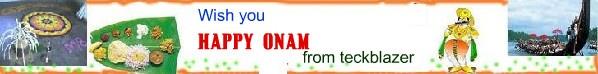 Happy onam to all ...#kerala  www.facebook.com/teckblazer