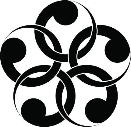 Vectores libres de derechos: vector Japanese traditional pattern
