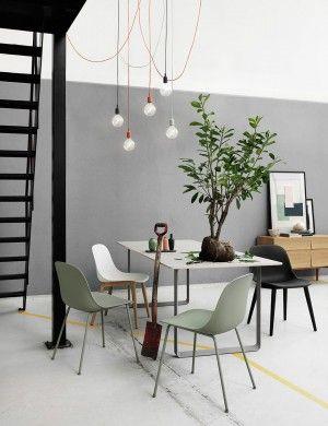 Fiber Side Chair - Modern Scandinavian Design Shell Chair by Muuto - Muuto
