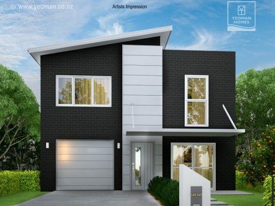 Yeoman Homes.  2 storey home Flagstaff. New home builder in Hamilton NZ.