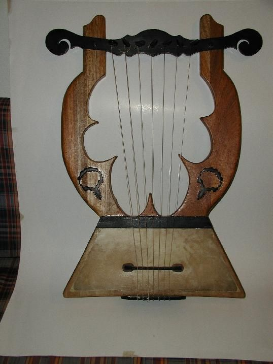 The kithara was the premier musical instrument of ancient rome and was