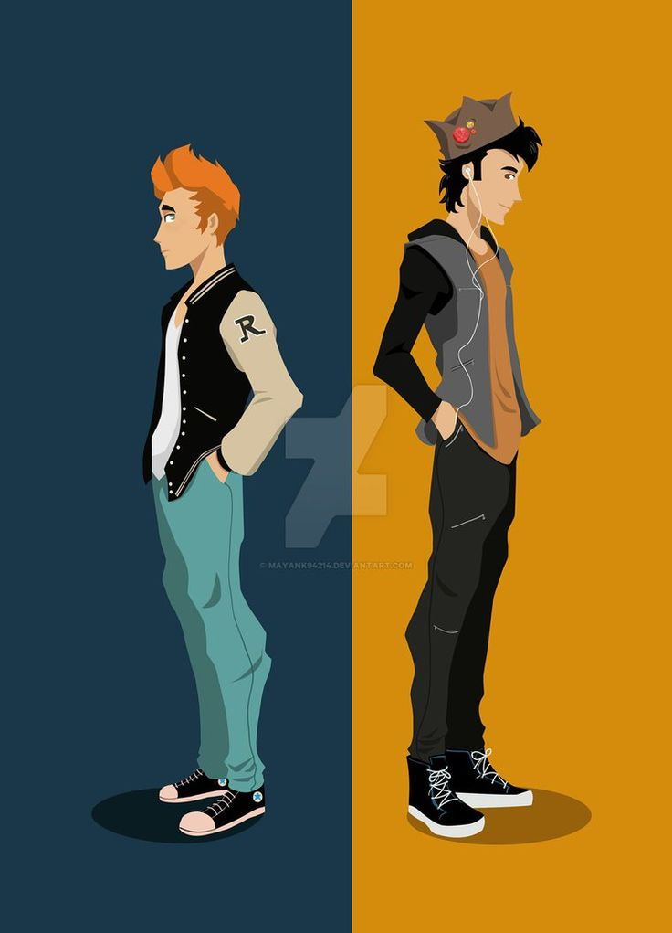 archie_and_jughead__flat_design_by_mayank94214-d99s7w1.jpg (759×1053)