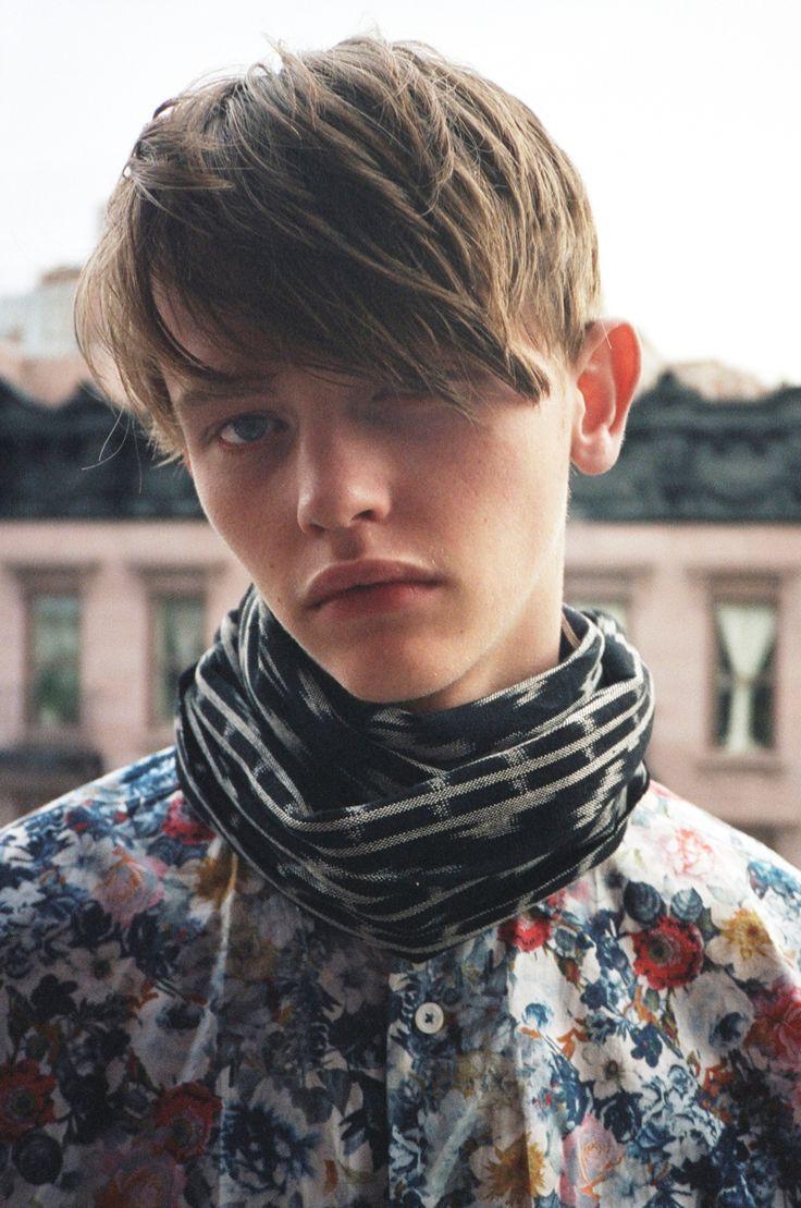 male-model-beauty:  Robbie McKinnon by Marcus Cooper