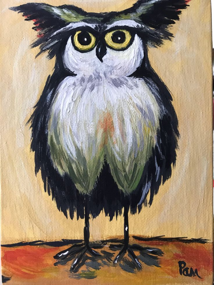 A personal favorite from my Etsy shop https://www.etsy.com/listing/548870577/owl-art-baby-owl-kids-room-art-fun-art