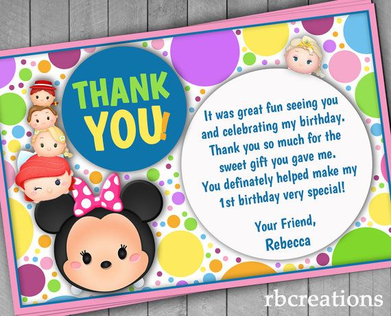 Best 25 Birthday thank you notes ideas – Thank You for Inviting Me to Your Party