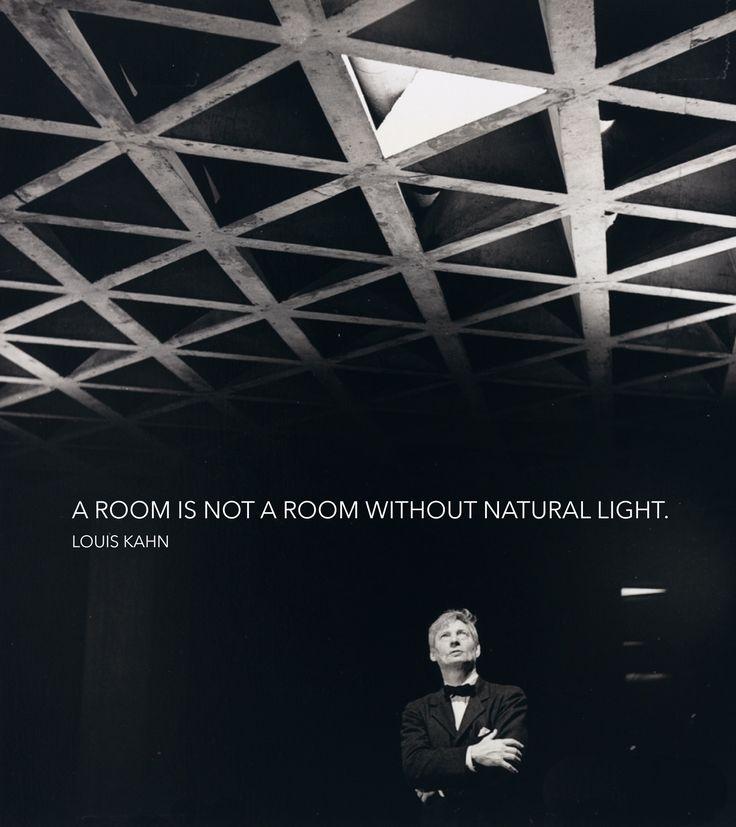 Architect Louis Kahn quote