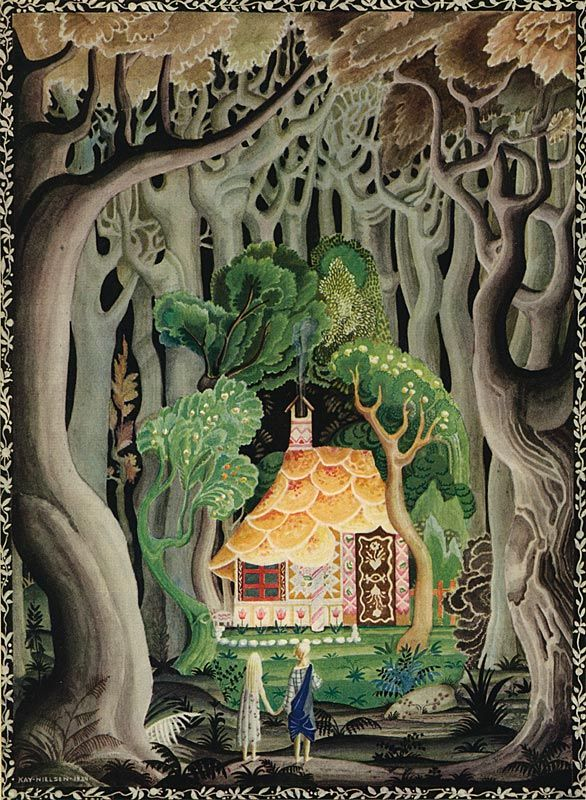 Hansel and Gretel illustration by Kay Nielsen