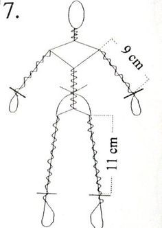 wire skeleton for dollmaking - Pesquisa Google