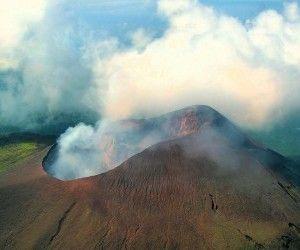 Volcan Telica, Fumarolas, Naturaleza de Nicaragua wallpaper