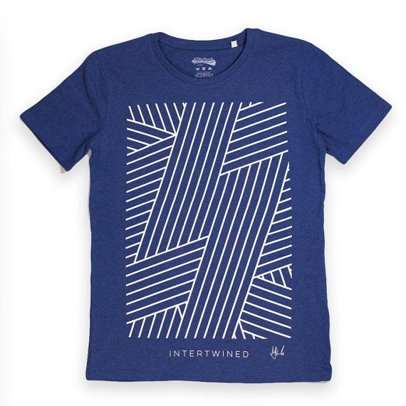 SALE Intertwined graphic tee illustrated tshirt abstract t-shirt pattern  design minimal t-shirt mens wear unisex