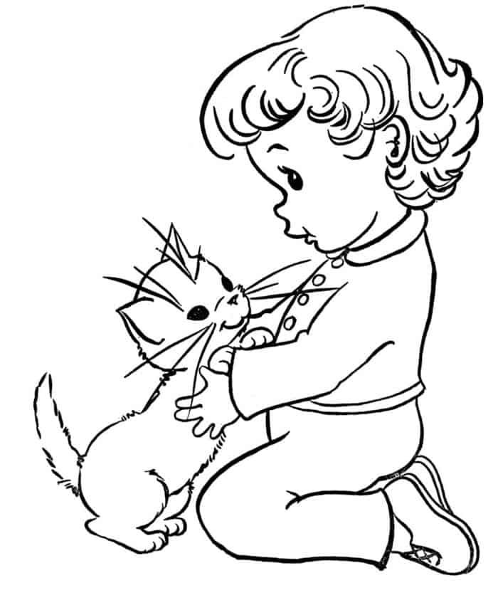 Cat Boy Coloring Pages Cat Coloring Page Kitty Coloring Puppy Coloring Pages