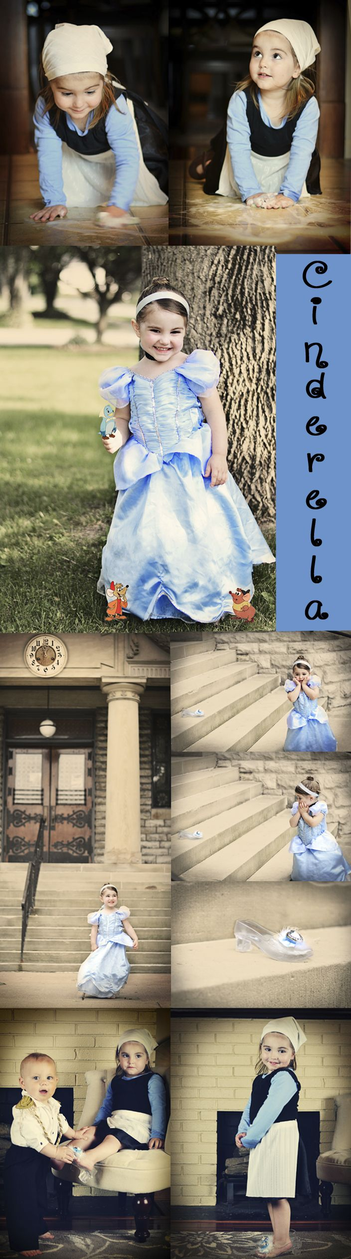 Cinderella Fairy tale Photo Shoot. 3 year old girl. Disney Princess. Sweet Pea Photography. Norwalk, OH