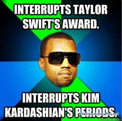 Interrupts Taylor swift's award