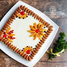 Mazurek marchewkowy   Świat Ciasta