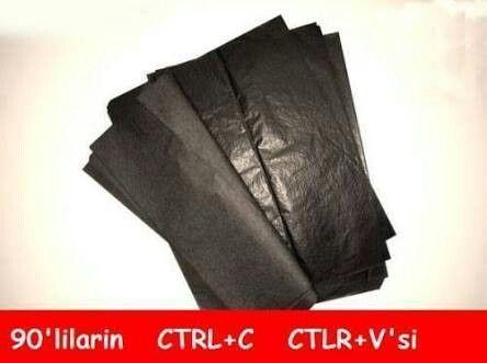 karbon kağıdı