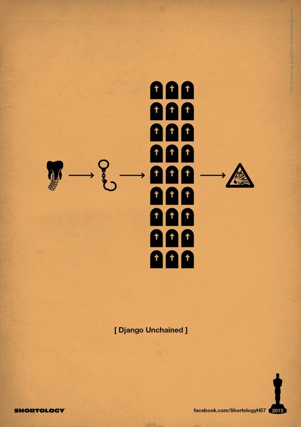 Django Unchained (2012) ~ Minimal Movie Poster by H-57 ...