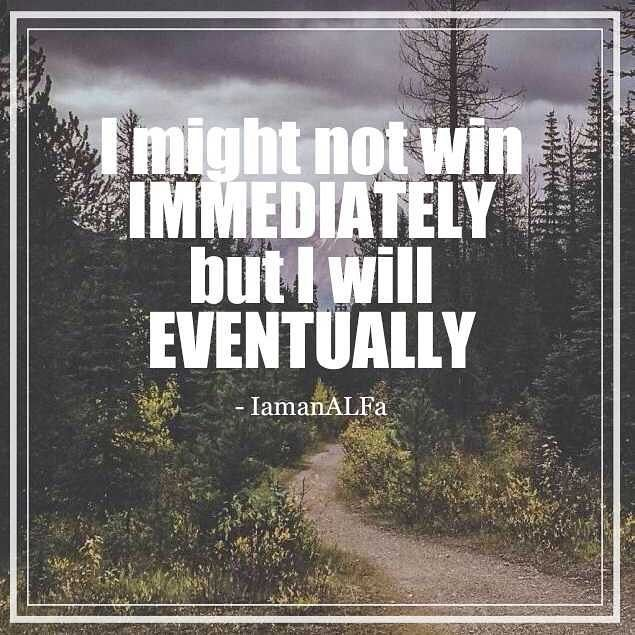 Is it about being an overnight winner? Or is it about the process of becoming the best version of yourself on your journey to become a winner? You tell me . . . . . . . . #motivation #motivationalquotes #inspo #inspirationalquotes #inspiration #quote #determination #perseverence #persistence #journey #mindset #growth